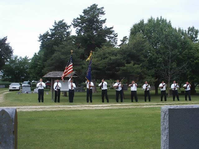 American Legion Ceremony