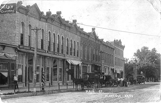 Florence Main St. 1919