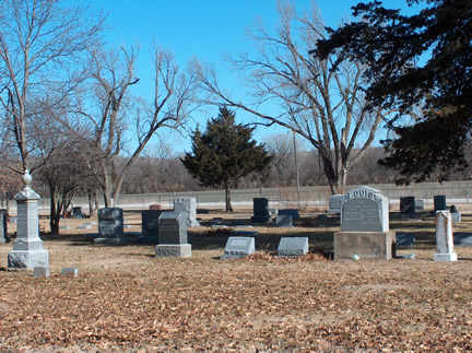 Old section of Hillcrest Cemetery